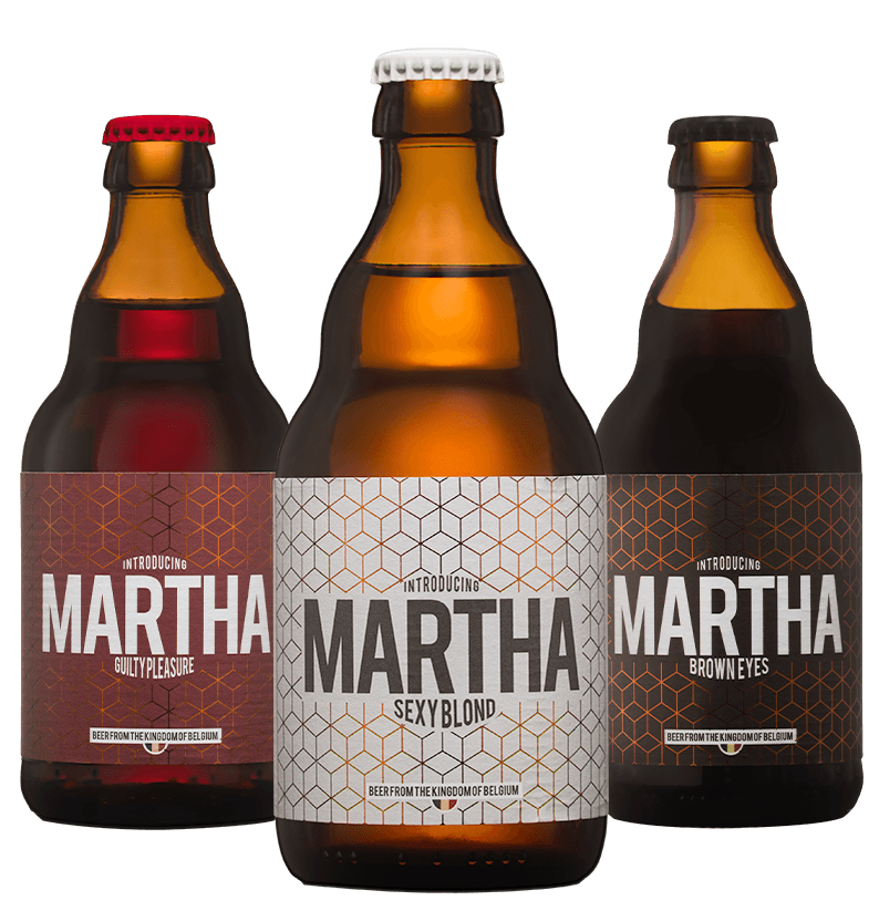 Proef ons Martha bier: Sexy Blond, Guilty Pleasure & Brown Eyes